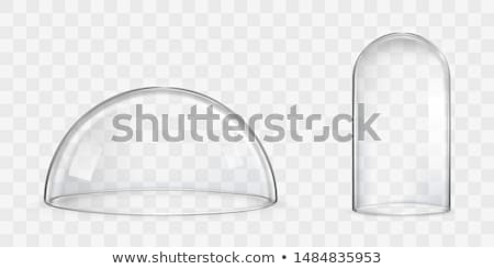 transparente · vidrio · mundo · blanco · espiral · nota - foto stock © sqback