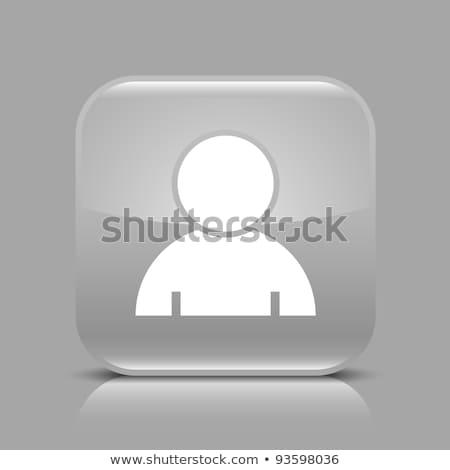 Login ícone preto botão internet Foto stock © faysalfarhan