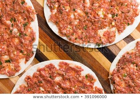 żywności przygotowany turecki cząber mięsa warzyw Zdjęcia stock © ozgur