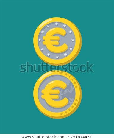 Oro ornamenti euro isolato bianco moda Foto d'archivio © Serg64
