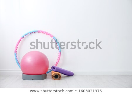 different sport equipments on the floor stock photo © bluering