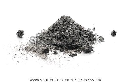 Stock photo: Cigarette ash