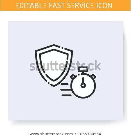 Gyors törvény szolgáltatás útvonal ügyvéd szolgáltatások Stock fotó © Lightsource