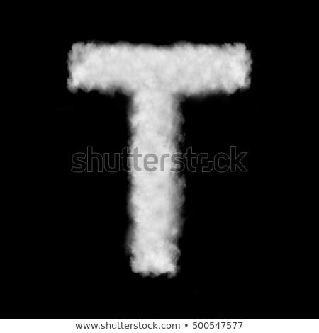 levél · jelbeszéd · fehér · izolált · felirat · ír - stock fotó © artjazz