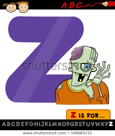 Letter Z for zombie Stock photo © bluering