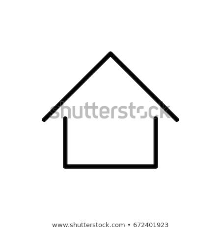 House outline concept Stock photo © Oakozhan