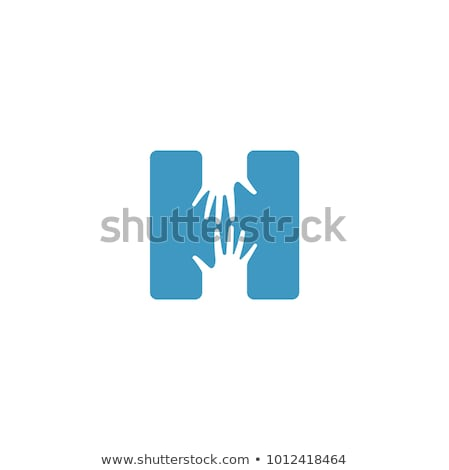 A letter H for hand Stock photo © bluering