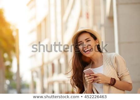 kadın · yaz · tropikal · tatil - stok fotoğraf © deandrobot