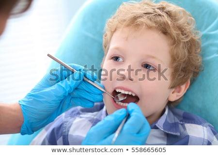 Medizinische Geräte Zahnarzt Junge medizinischen Stock foto © wavebreak_media
