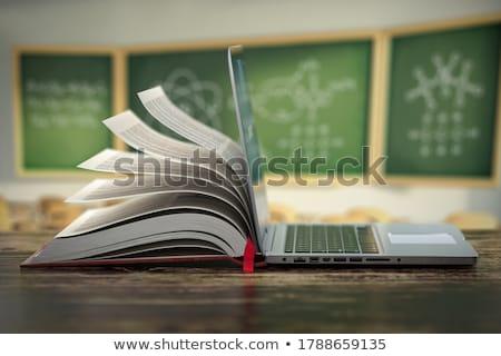 Isolé blanche fond apprentissage objets langue Photo stock © kitch