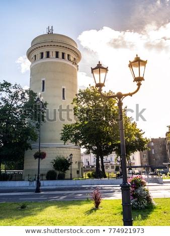 água · torre · impressionante · histórico · cidade · indústria - foto stock © benkrut