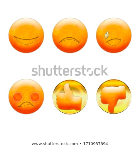 thumb up symbol made with emoji  Stock photo © SArts