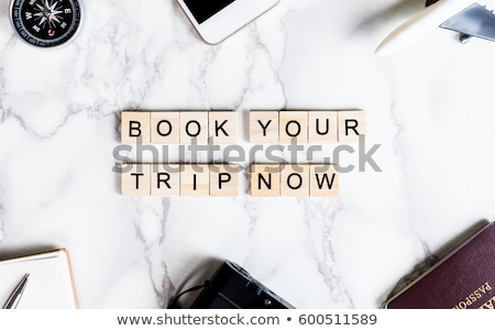 Book your business travel now mobile app Stock photo © stevanovicigor