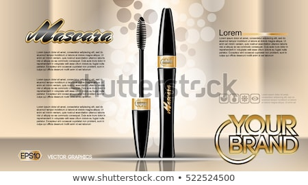 Cosmetics Vector realistic package ads template bundle Stock photo © frimufilms