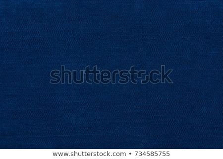 sötét · kék · vászon · textúra · közelkép · kilátás - stock fotó © LightFieldStudios