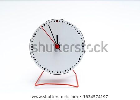 öt jegyzőkönyv tizenkettő fotó óra mutat Stock fotó © pressmaster