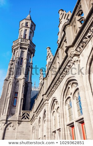 Historium building on the Grote Markt in Bruges   Stock photo © benkrut