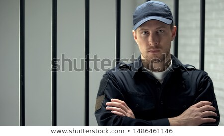 Corrections Officer at Work Stock photo © AlienCat