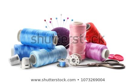 de · costura · tabela · tiro · ferramentas - foto stock © oleksandro