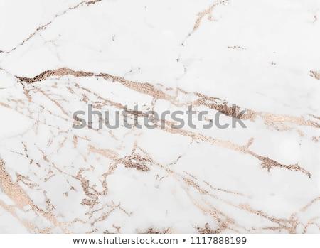 Rose Gold glittering diagonal lines pattern on white background. Stock photo © fresh_5265954