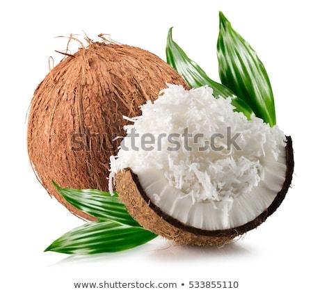 tropicali · cocco · sabbia · bianca - foto d'archivio © dash