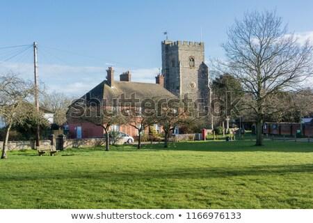 Chartham Village Green, Kent, UK stock photo © smartin69