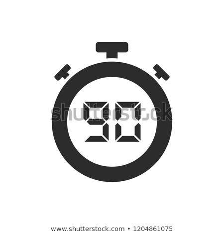 孤立した ストップウオッチ アイコン 秒 デザイン 停止 ストックフォト © Imaagio