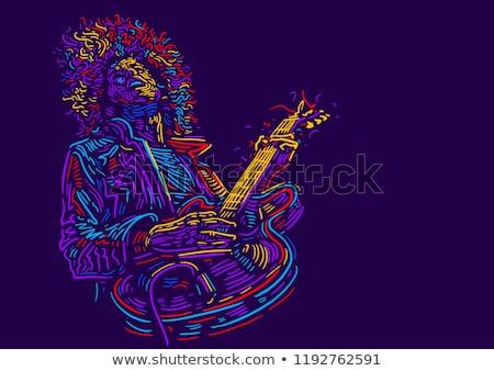 音楽 · 注記 · 愛 · 実例 · 高い - ストックフォト © robuart