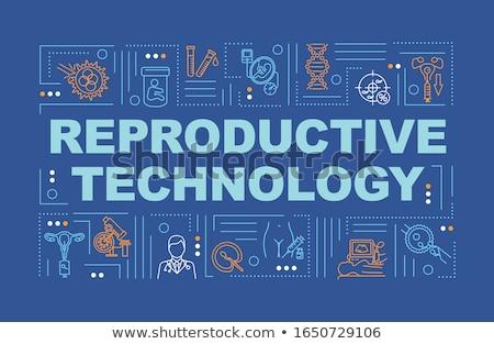 artificial reproduction concept banner header stock photo © rastudio
