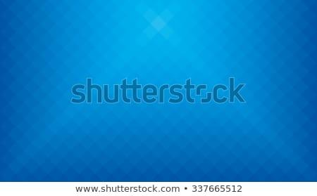 Fehér izzik kék kockás üzlet terv Stock fotó © Andreyfire