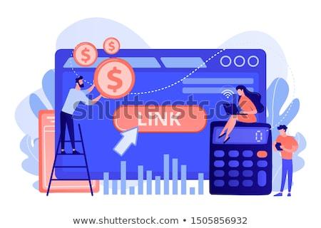Cost per acquisition CPA model concept vector illustration. Stock photo © RAStudio