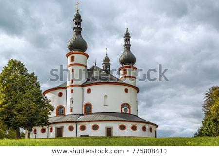 Kapel belangrijk barok gebouw architectuur Stockfoto © borisb17