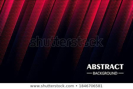 Piros fekete átló halftone terv sebesség Stock fotó © SArts