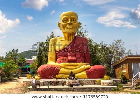 Buddha statue at Koh Lan island, Thailand Stock photo © bloodua