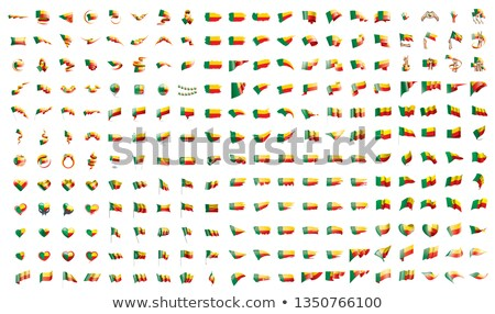very big collection of vector flags of the Benin Stock photo © butenkow