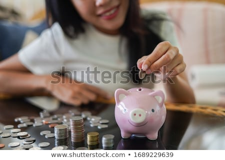 save pennies stock photo © mybaitshop