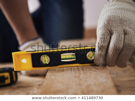 construction worker with timber and a plane stock photo © photography33