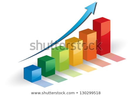 folder with diagram, chart, graph Stock photo © 4designersart