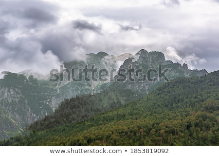 Totes Gebirge Mountains from to Almsee Stock photo © broker