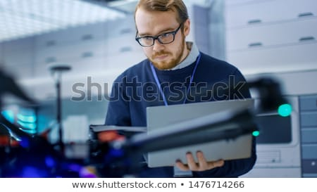 Engineer racing Stock photo © photography33