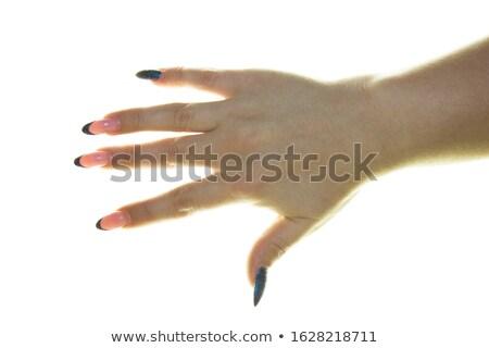 splayed feminine hand Stock photo © prill