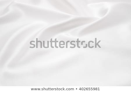 白 · 抽象的な · ソフト · 波状の · 壁 - ストックフォト © ozaiachin