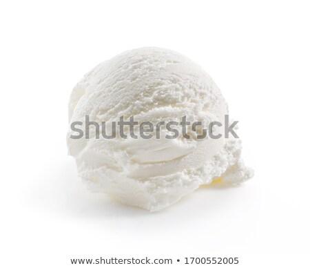 white ice Stock photo © Nneirda
