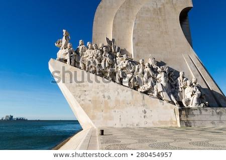 Padrao dos Descobrimentos, Lisbon  Stock photo © boggy