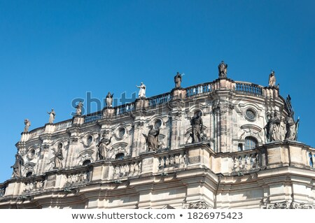Stock photo: The Upper Part Of The Hofkirche