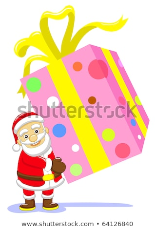 Noël · couronne · bleu · arbre · rouge · star - photo stock © rioillustrator