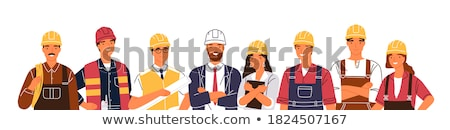 Portrait of a smiling tradeswoman Stock photo © photography33