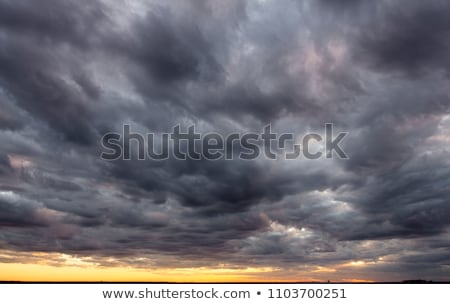 bad weather above water Stock photo © chesterf