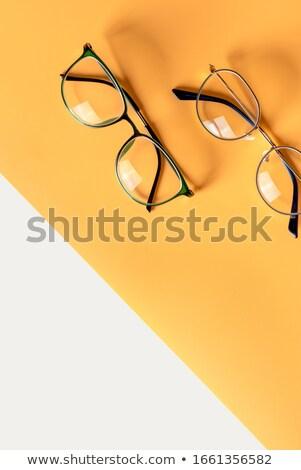 oeil · forme · icône · résumé · transparent - photo stock © gladiolus