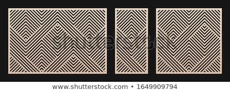 Wood mosaic 3 Stock photo © FOTOYOU